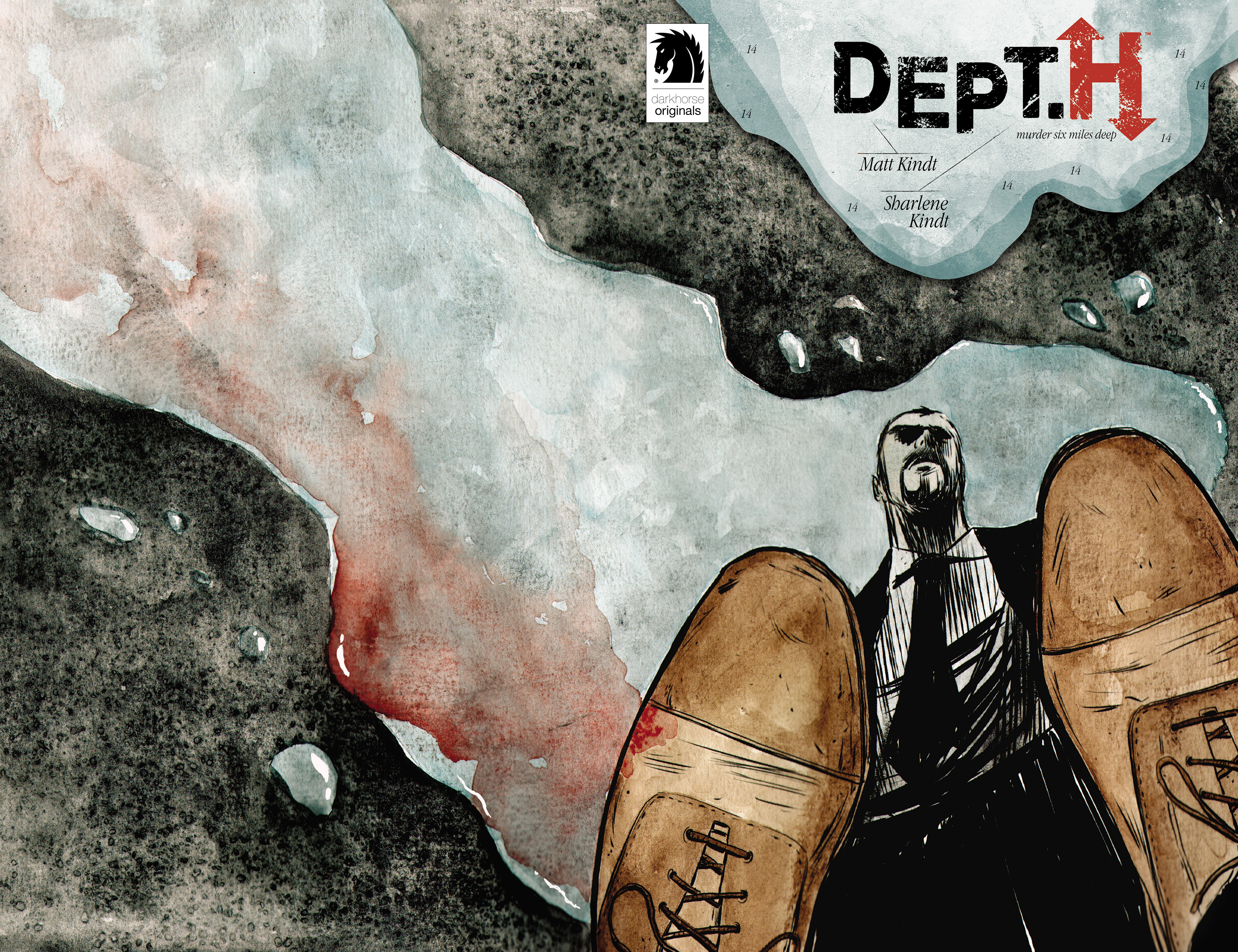 Read online Dept. H comic -  Issue #14 - 1