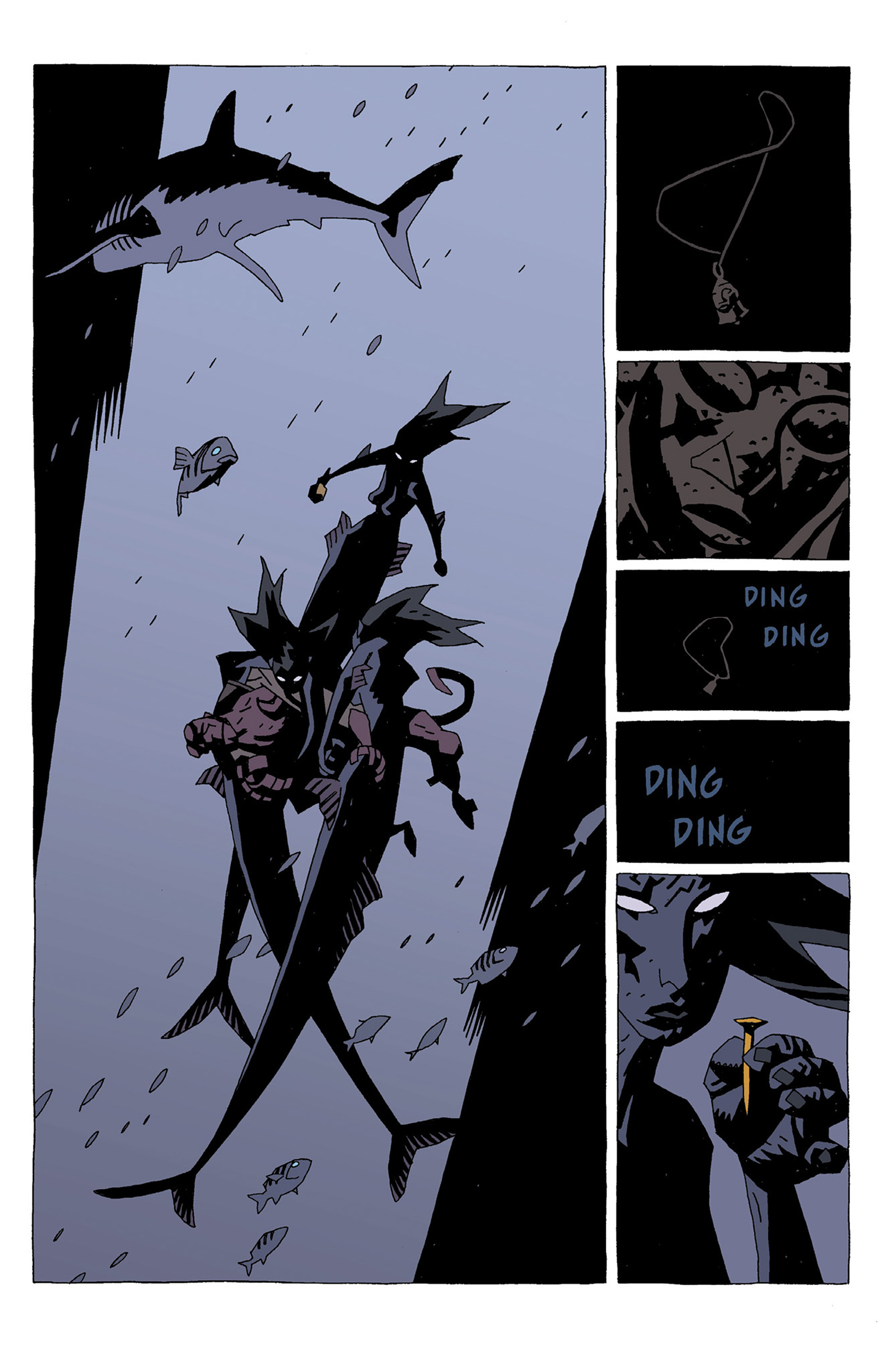 Read online Hellboy: Strange Places comic -  Issue # TPB - 23