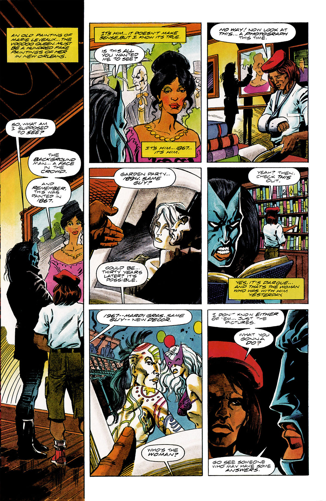 Read online Shadowman (1992) comic -  Issue #11 - 5