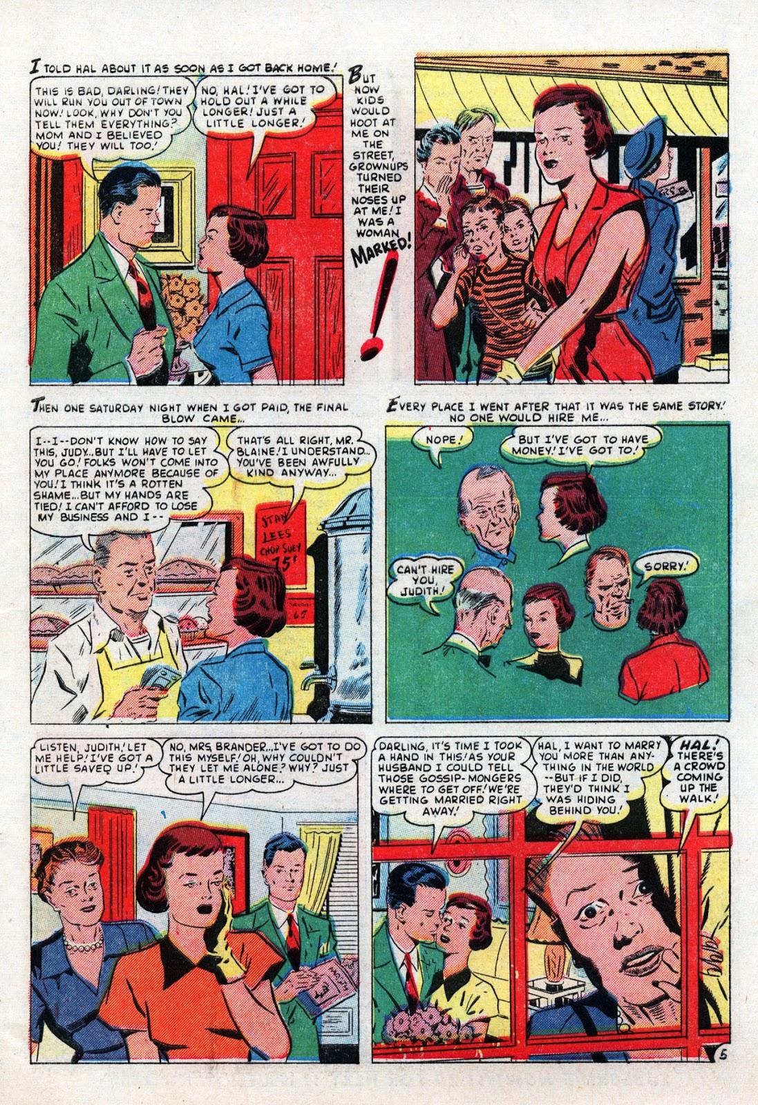 Love Romances (1949) issue 19 - Page 31