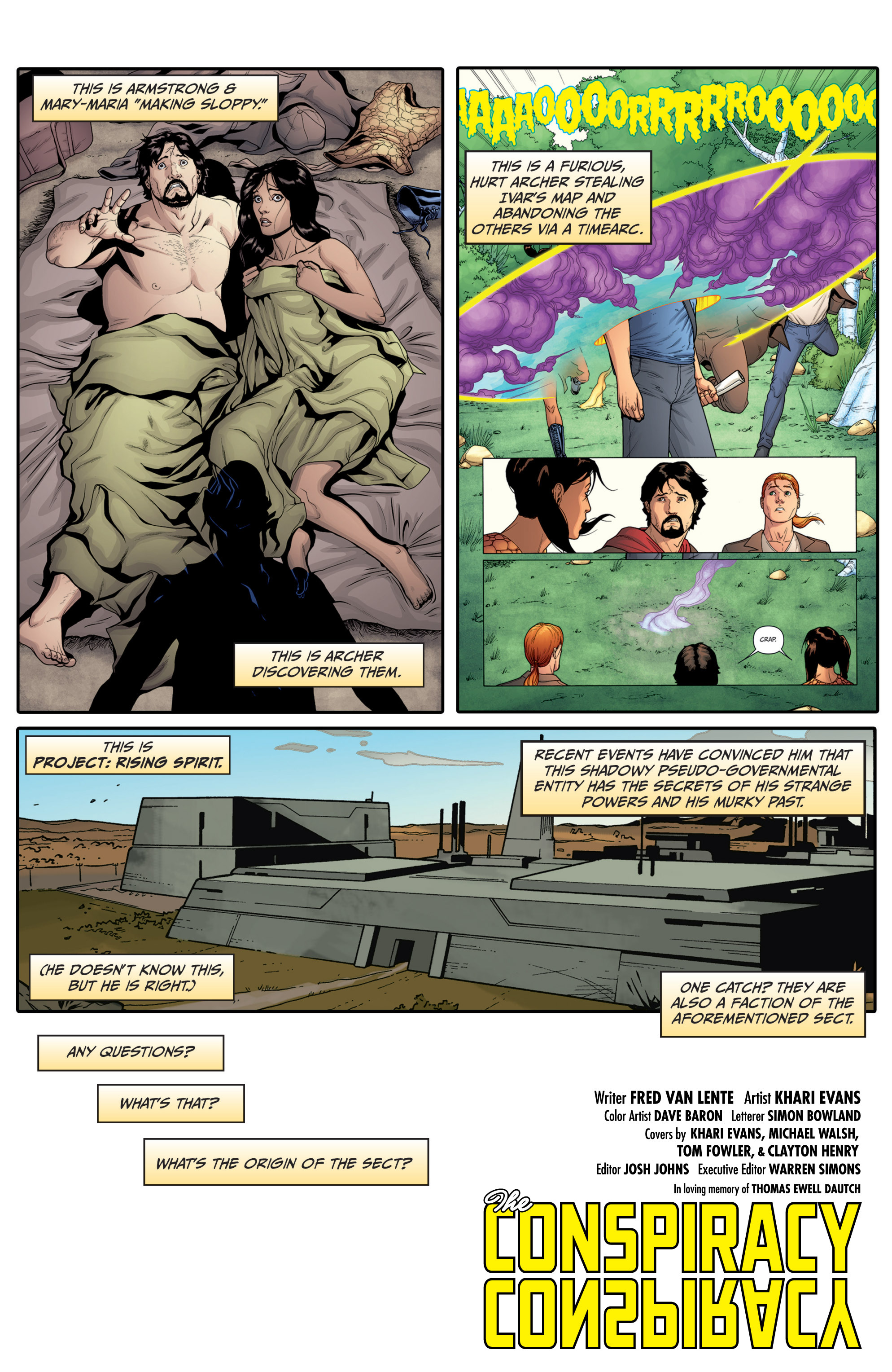 Read online Archer and Armstrong comic -  Issue #Archer and Armstrong _TPB 4 - 8