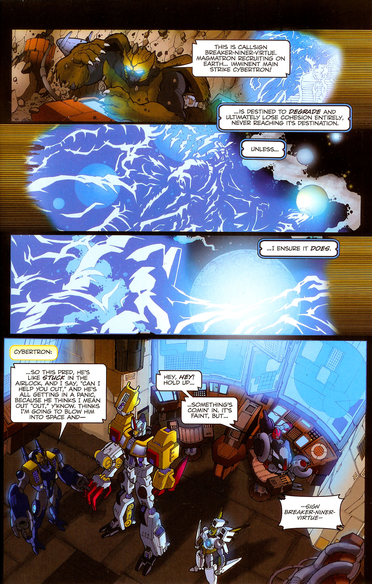 Read online Transformers: Beast Wars: The Ascending comic -  Issue #1 - 21