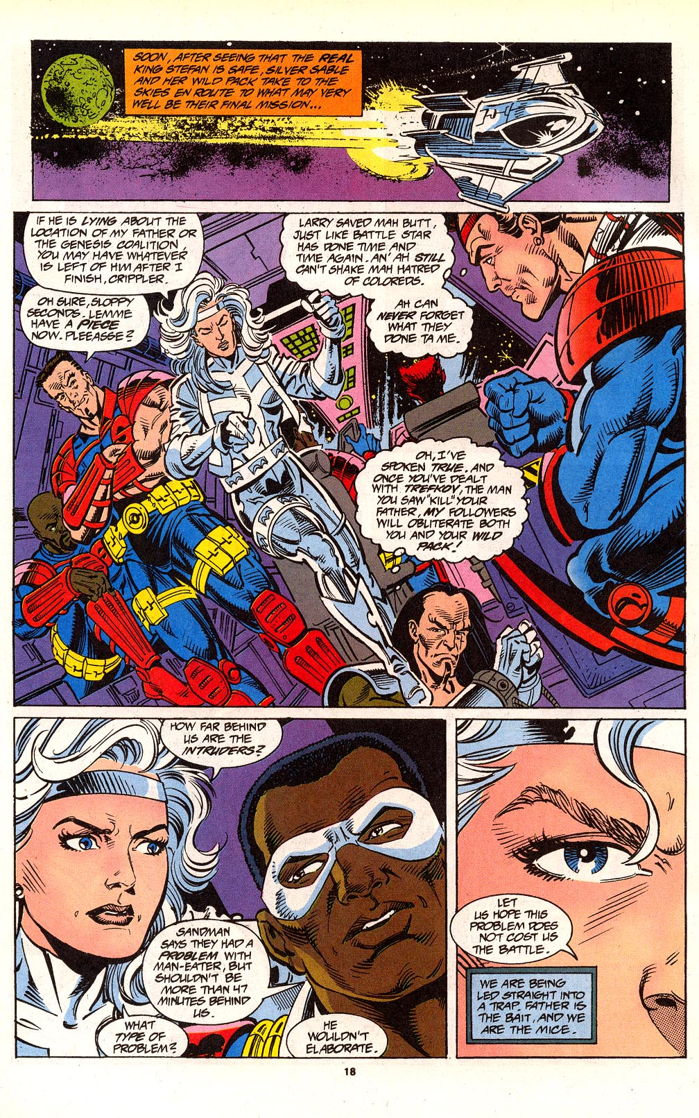 Read online Silver Sable and the Wild Pack comic -  Issue #24 - 15