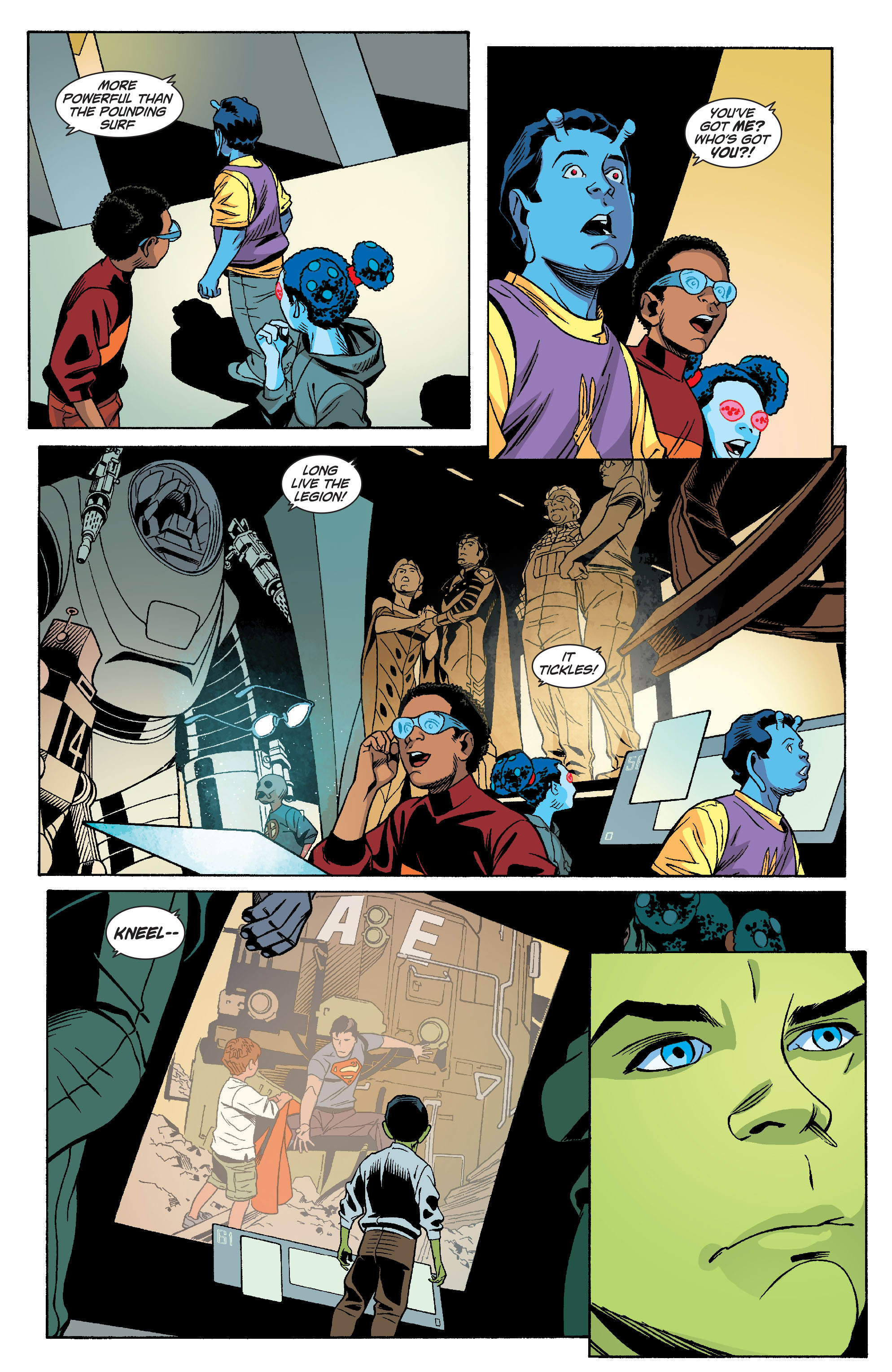 Read online Action Comics (2011) comic -  Issue #18 - 38