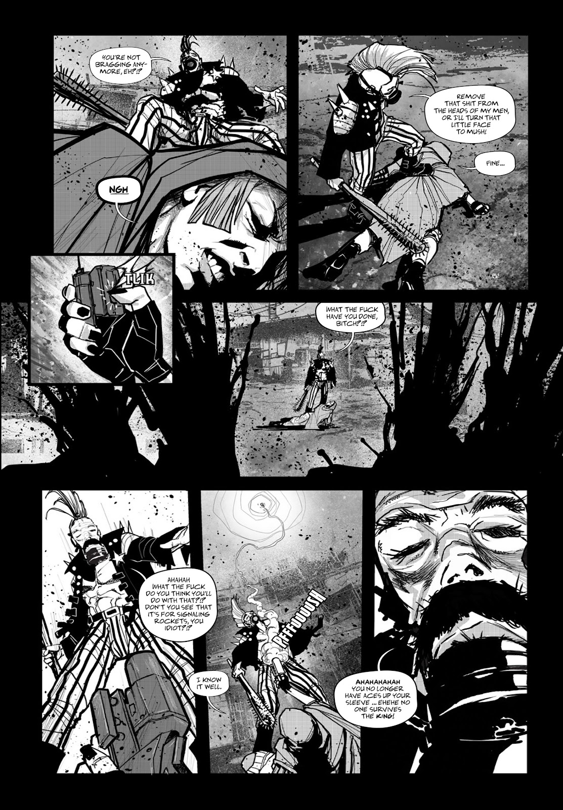 Read online Wrath of God comic -  Issue # _TPB - 89
