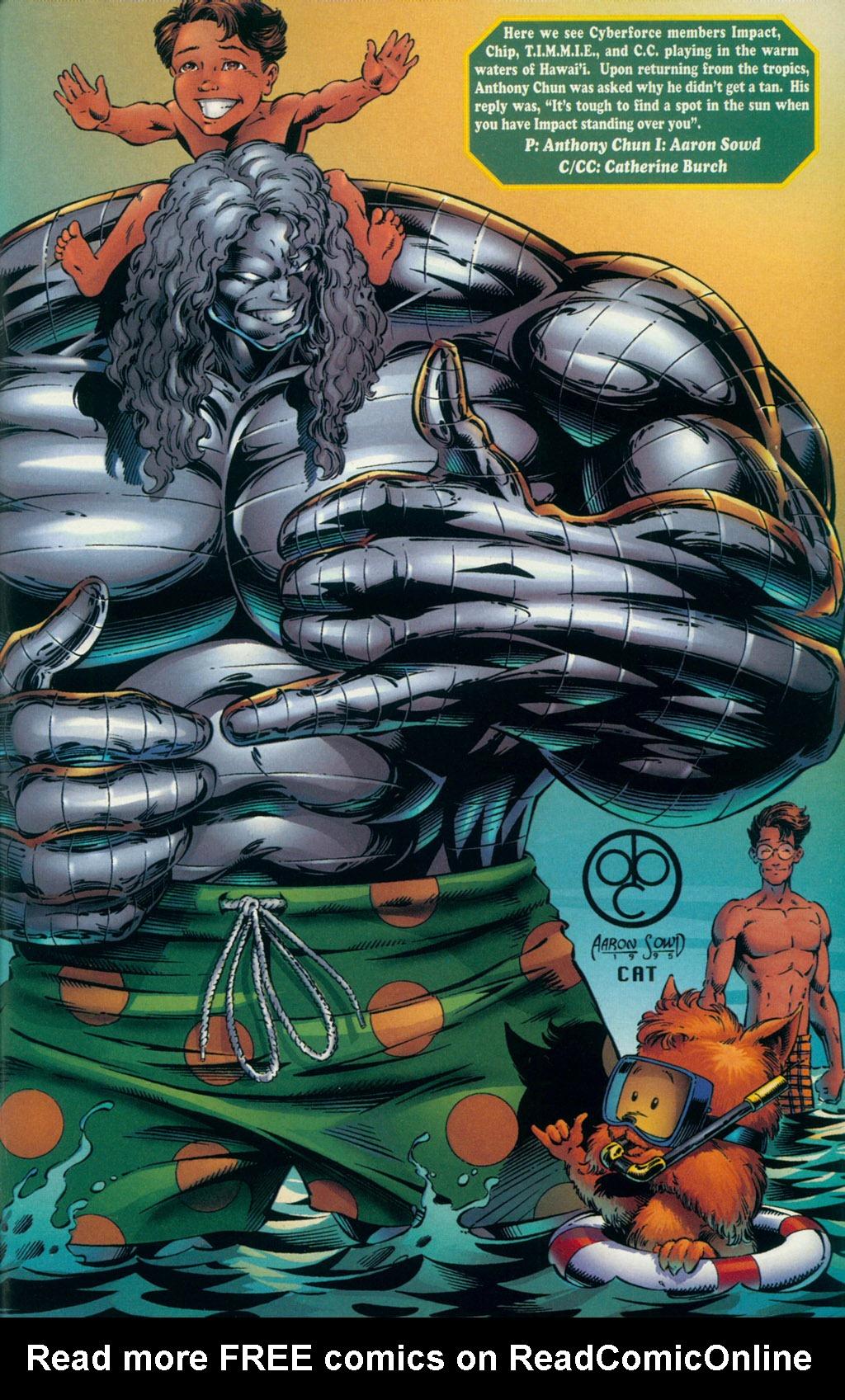 Read online Ballistic Studios Swimsuit Special comic -  Issue #1 - 24