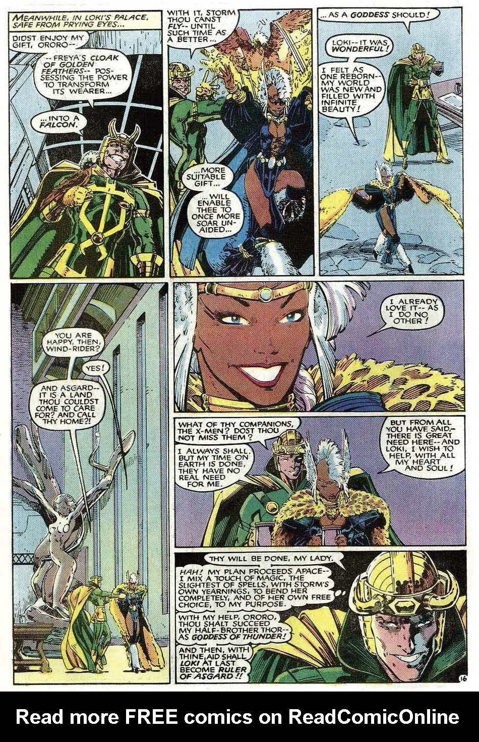 Read online Uncanny X-Men (1963) comic -  Issue # _Annual 9 - 18