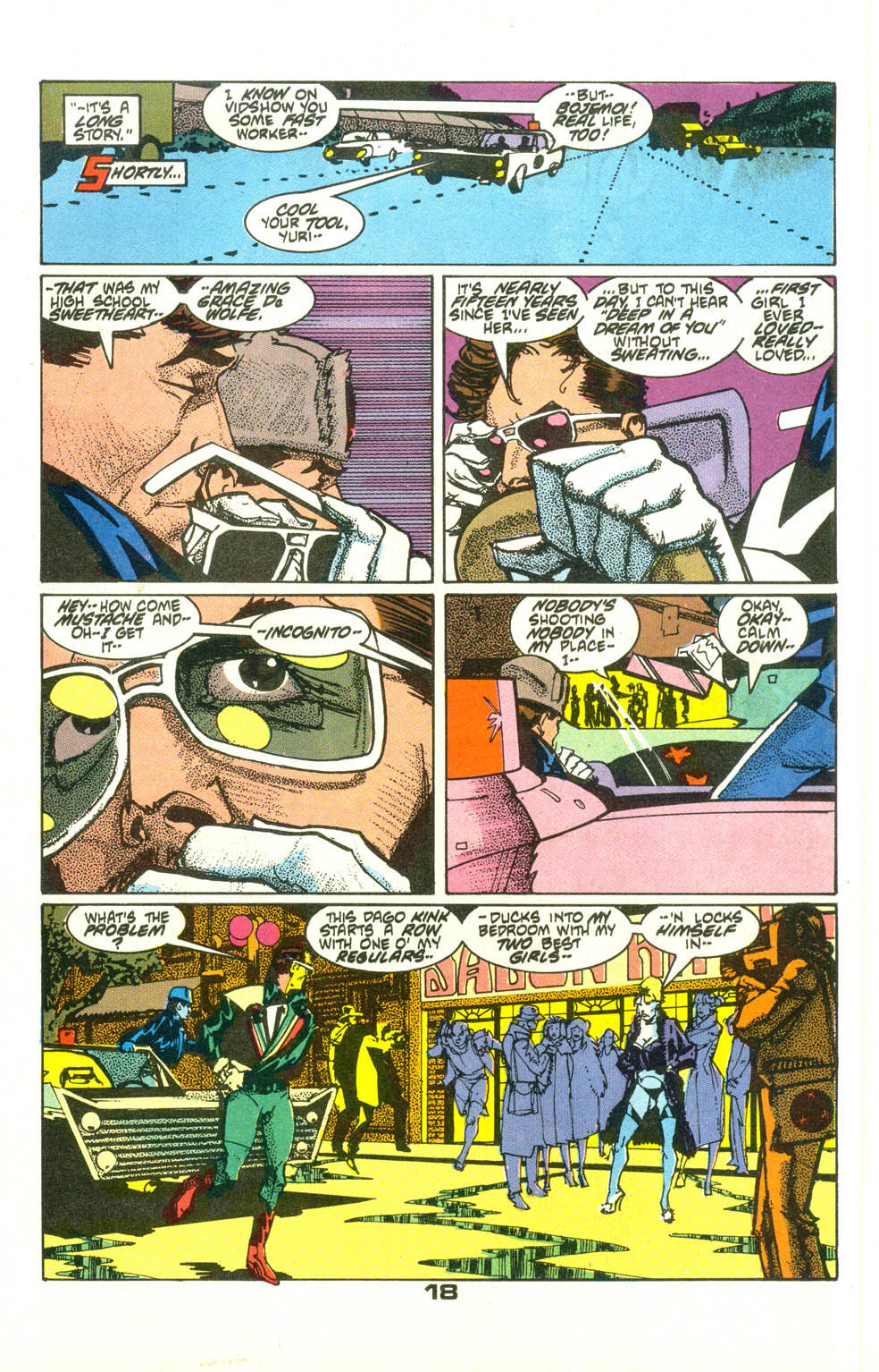 Read online American Flagg! comic -  Issue #23 - 20