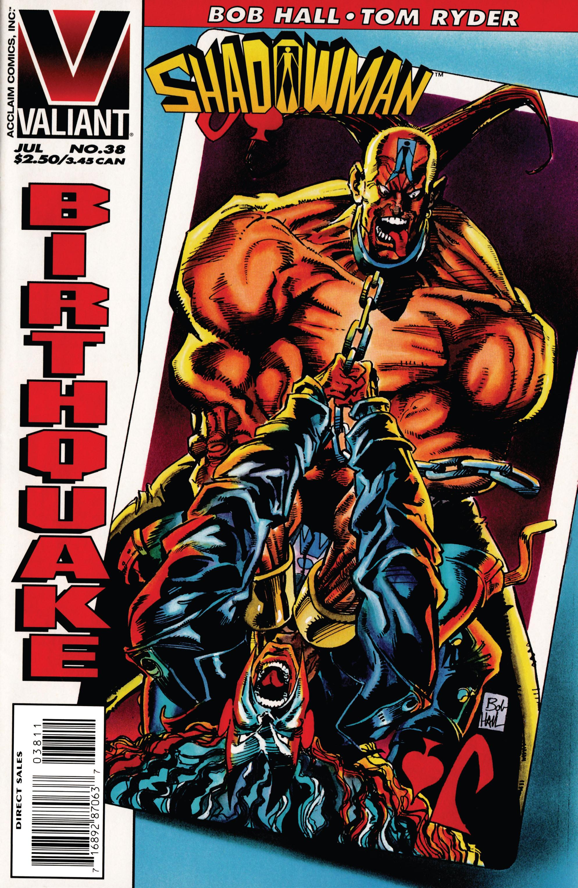 Read online Shadowman (1992) comic -  Issue #38 - 1