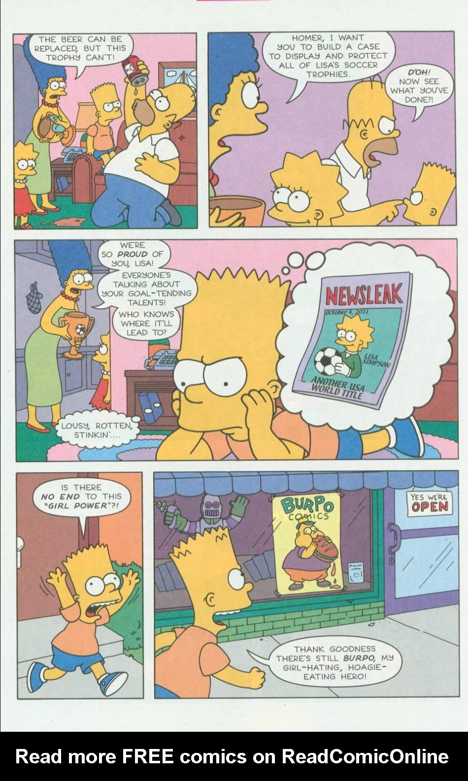 Read online Simpsons Comics Presents Bart Simpson comic -  Issue #1 - 14
