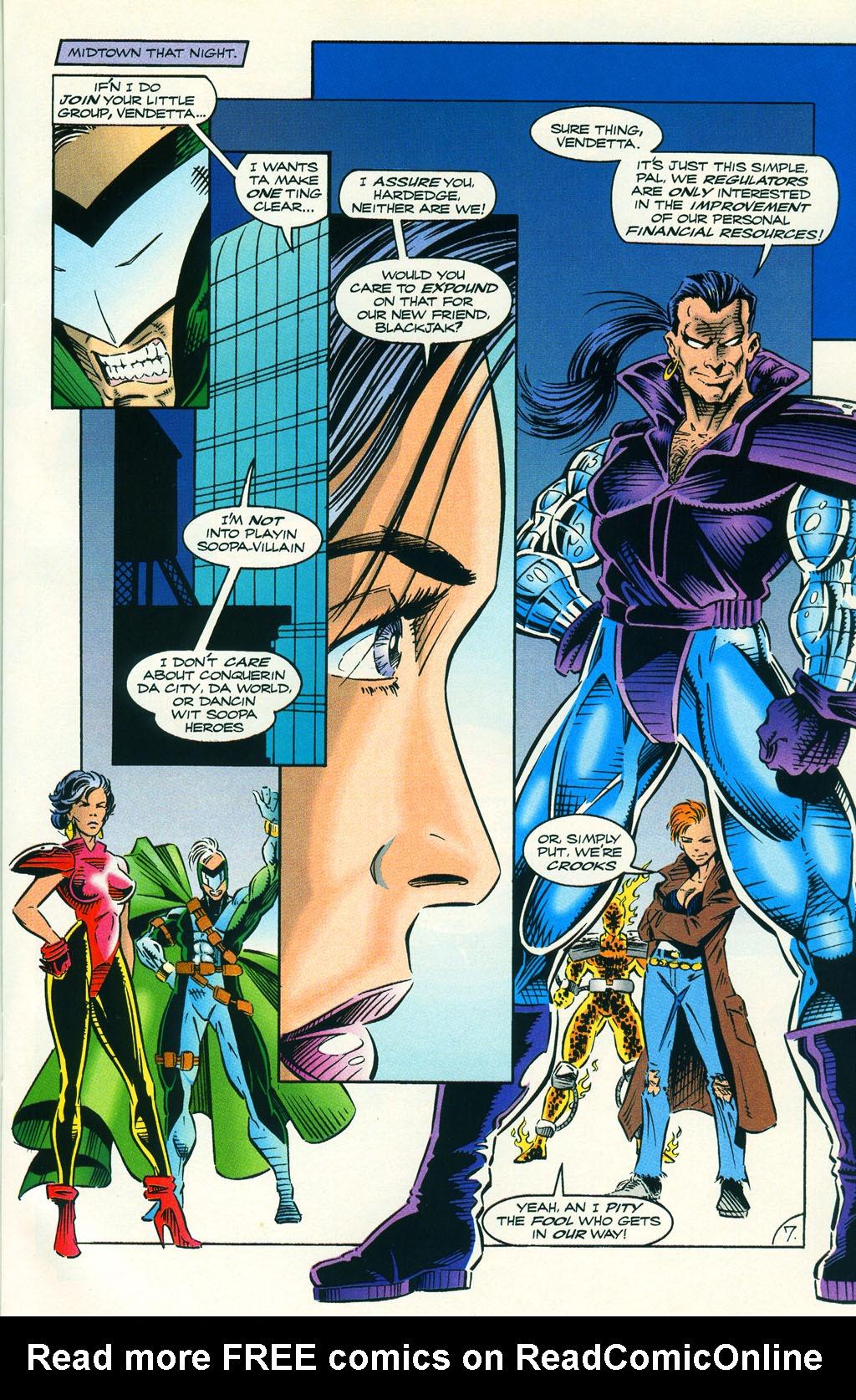 Read online ShadowHawk comic -  Issue #5 - 11