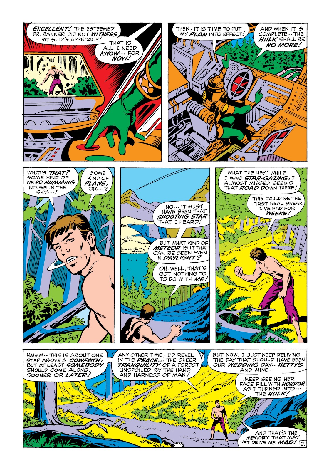 Read online Marvel Masterworks: The Incredible Hulk comic -  Issue # TPB 6 (Part 2) - 56