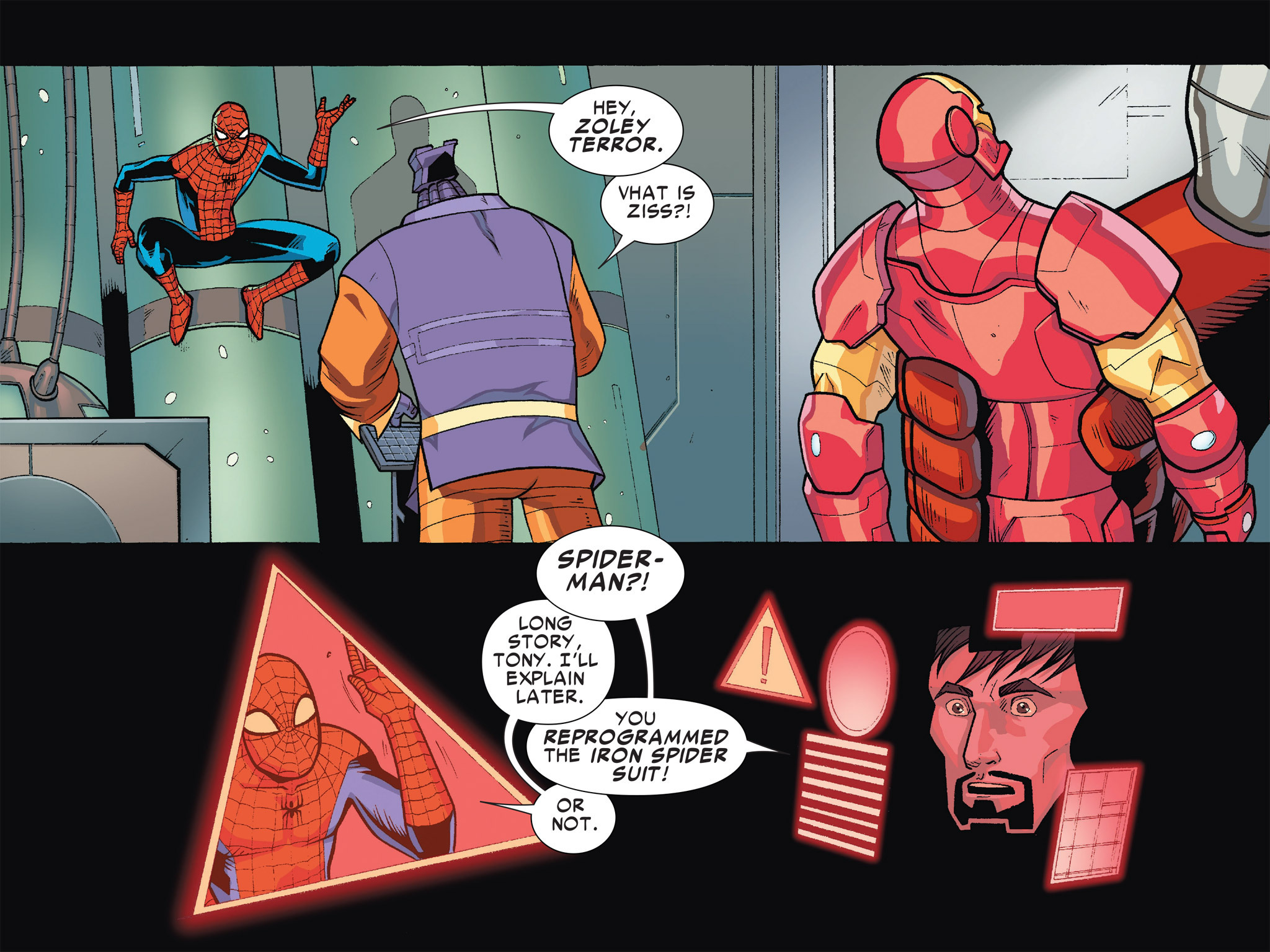 Read online Ultimate Spider-Man (Infinite Comics) (2016) comic -  Issue #5 - 31