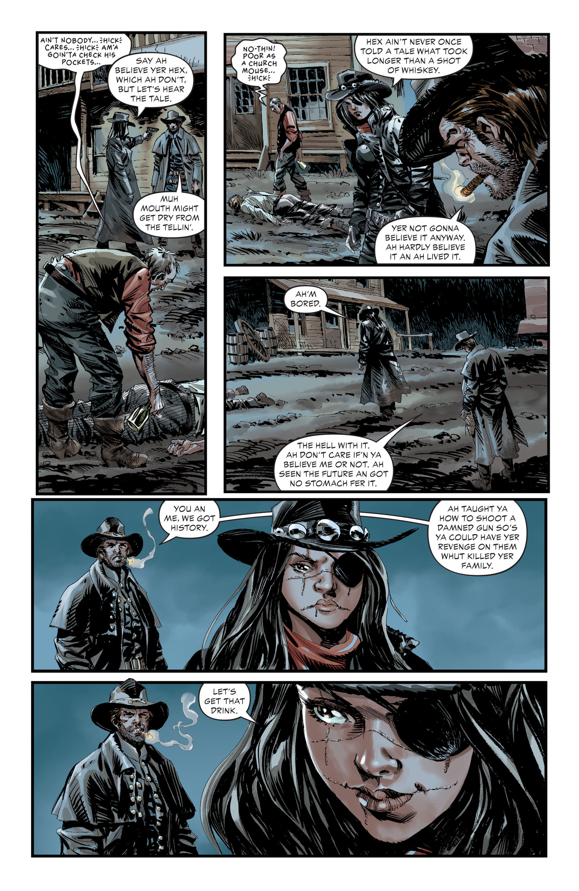 Read online All-Star Western (2011) comic -  Issue #30 - 11