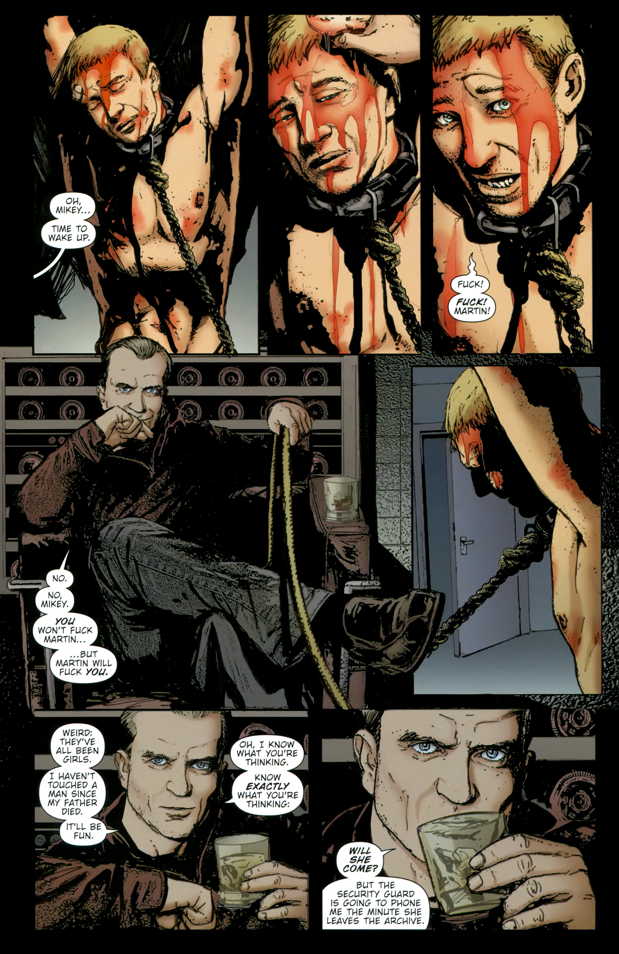 Read online The Girl With the Dragon Tattoo comic -  Issue # TPB 2 - 84