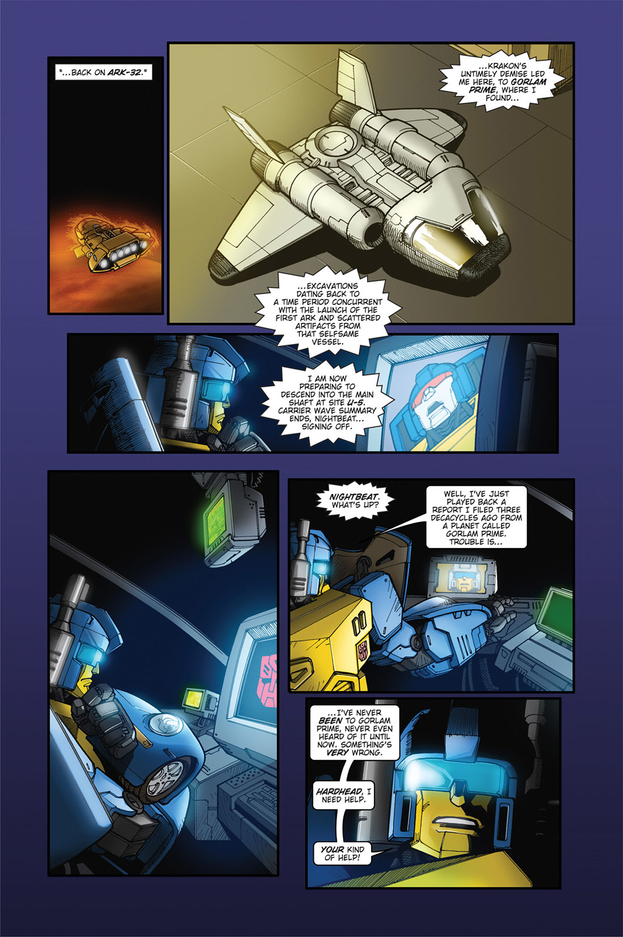Read online Transformers Spotlight: Cyclonus comic -  Issue # Full - 15