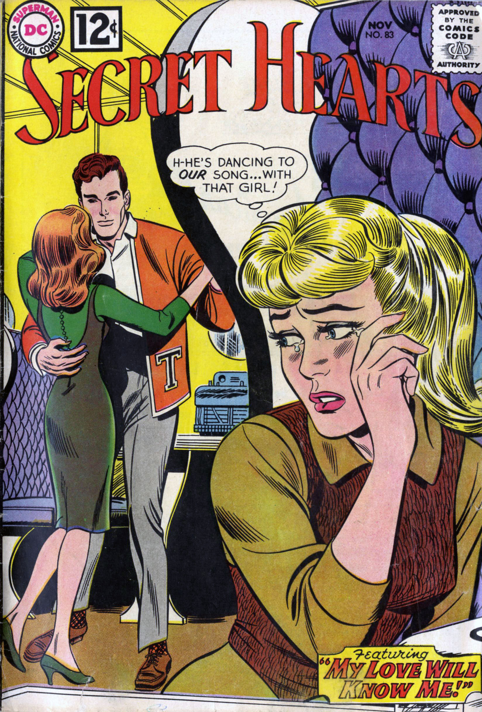 Read online Secret Hearts comic -  Issue #83 - 1
