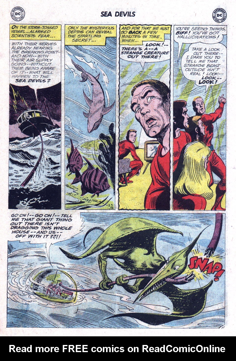Read online Sea Devils comic -  Issue #11 - 15