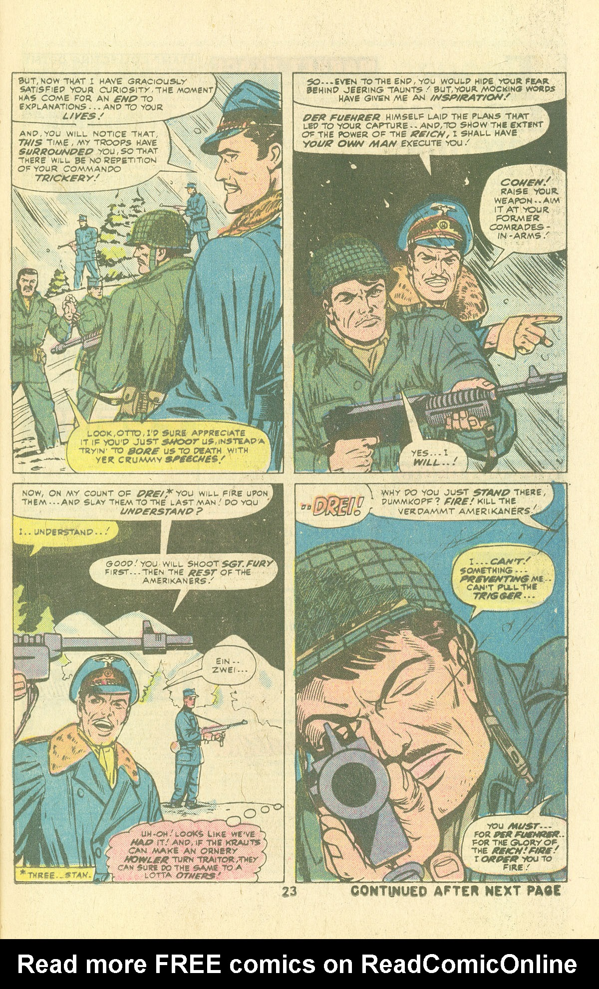 Read online Sgt. Fury comic -  Issue #134 - 25