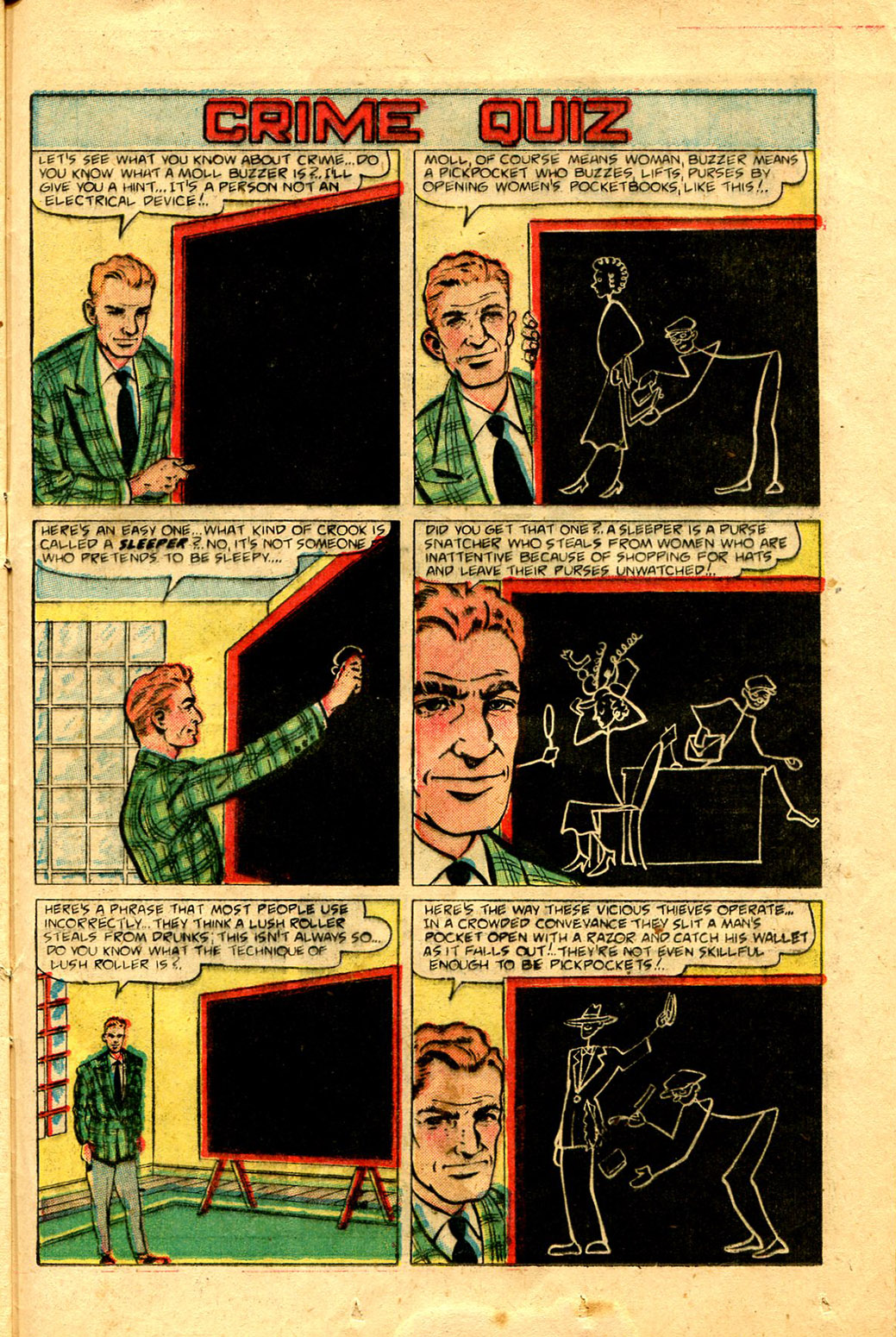 Read online Shadow Comics comic -  Issue #100 - 37