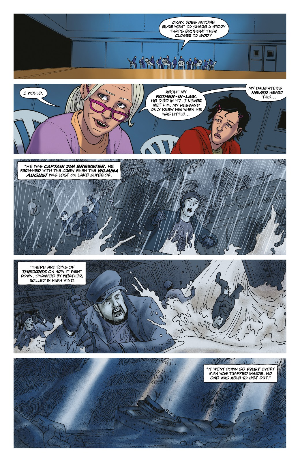 Read online She Could Fly comic -  Issue # _TPB - 97