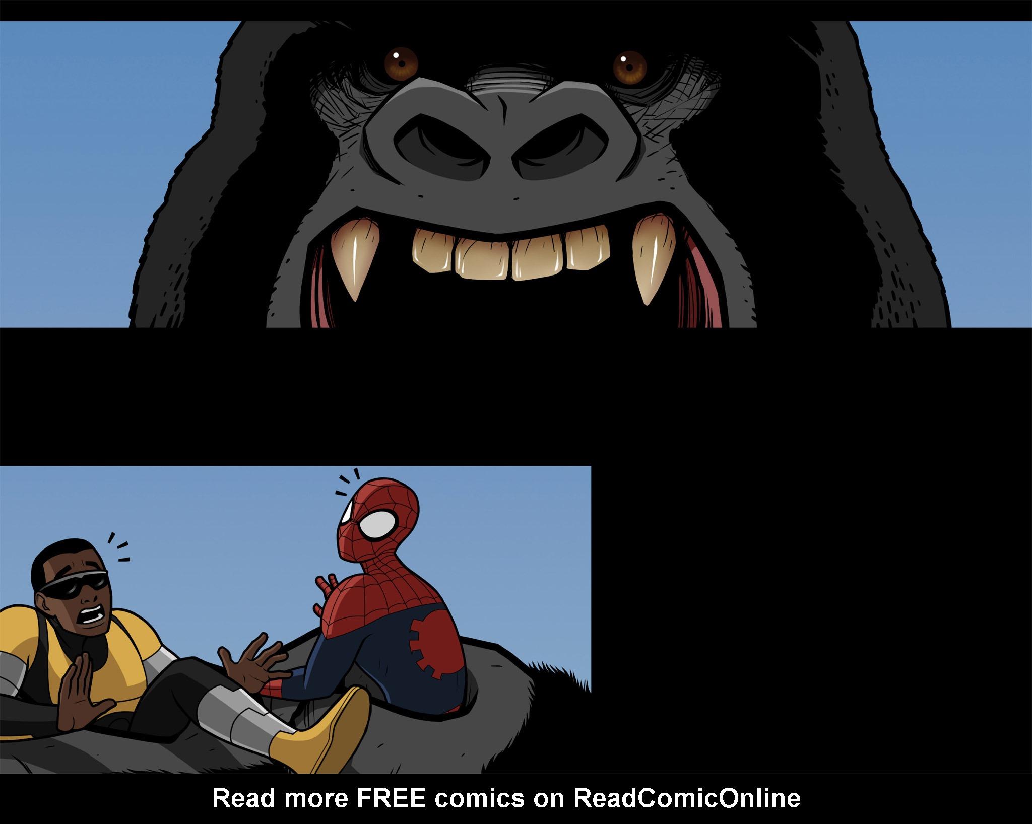 Read online Ultimate Spider-Man (Infinite Comics) (2015) comic -  Issue #10 - 23