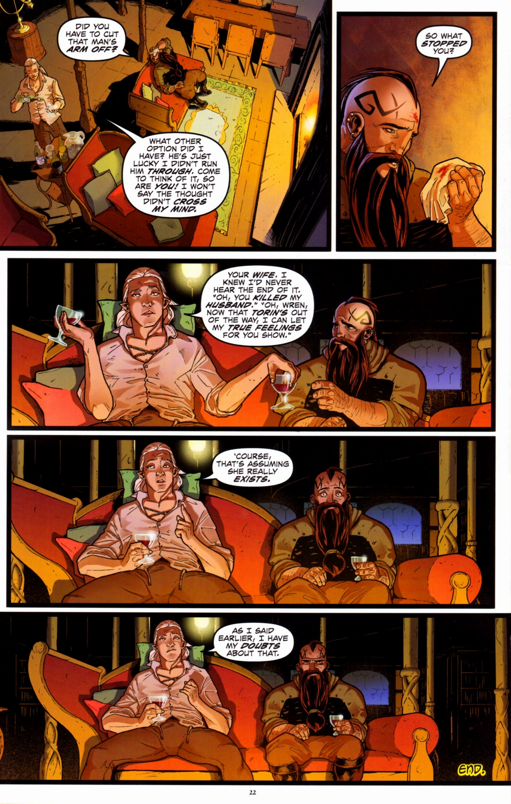 Read online Infestation 2: Dungeons & Dragons comic -  Issue #2 - 24