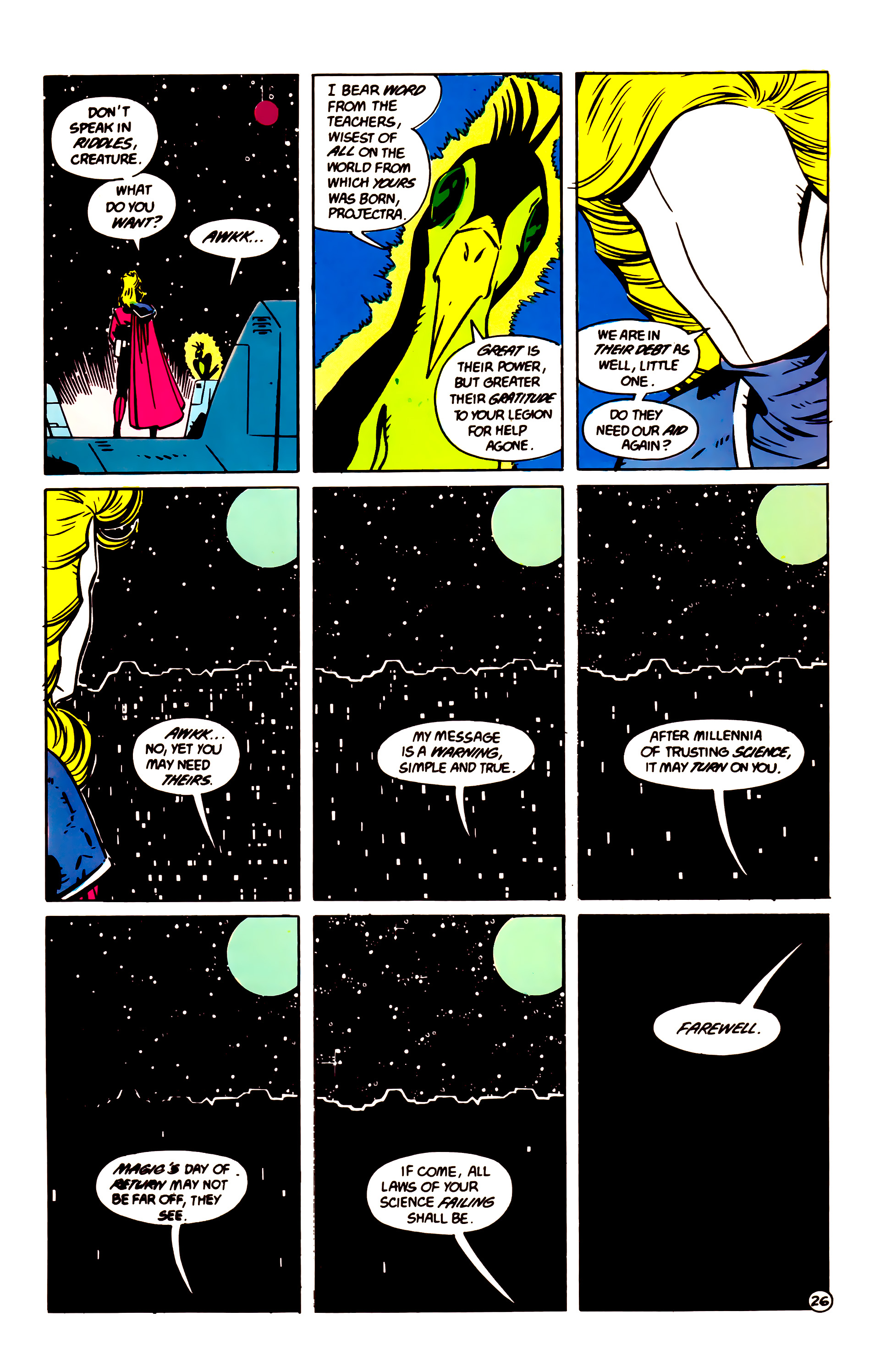 Legion of Super-Heroes (1984) 60 Page 26