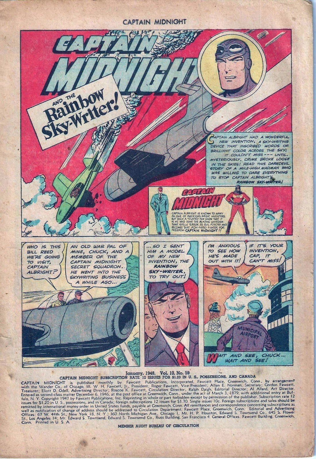 Captain Midnight (1942) issue 59 - Page 2