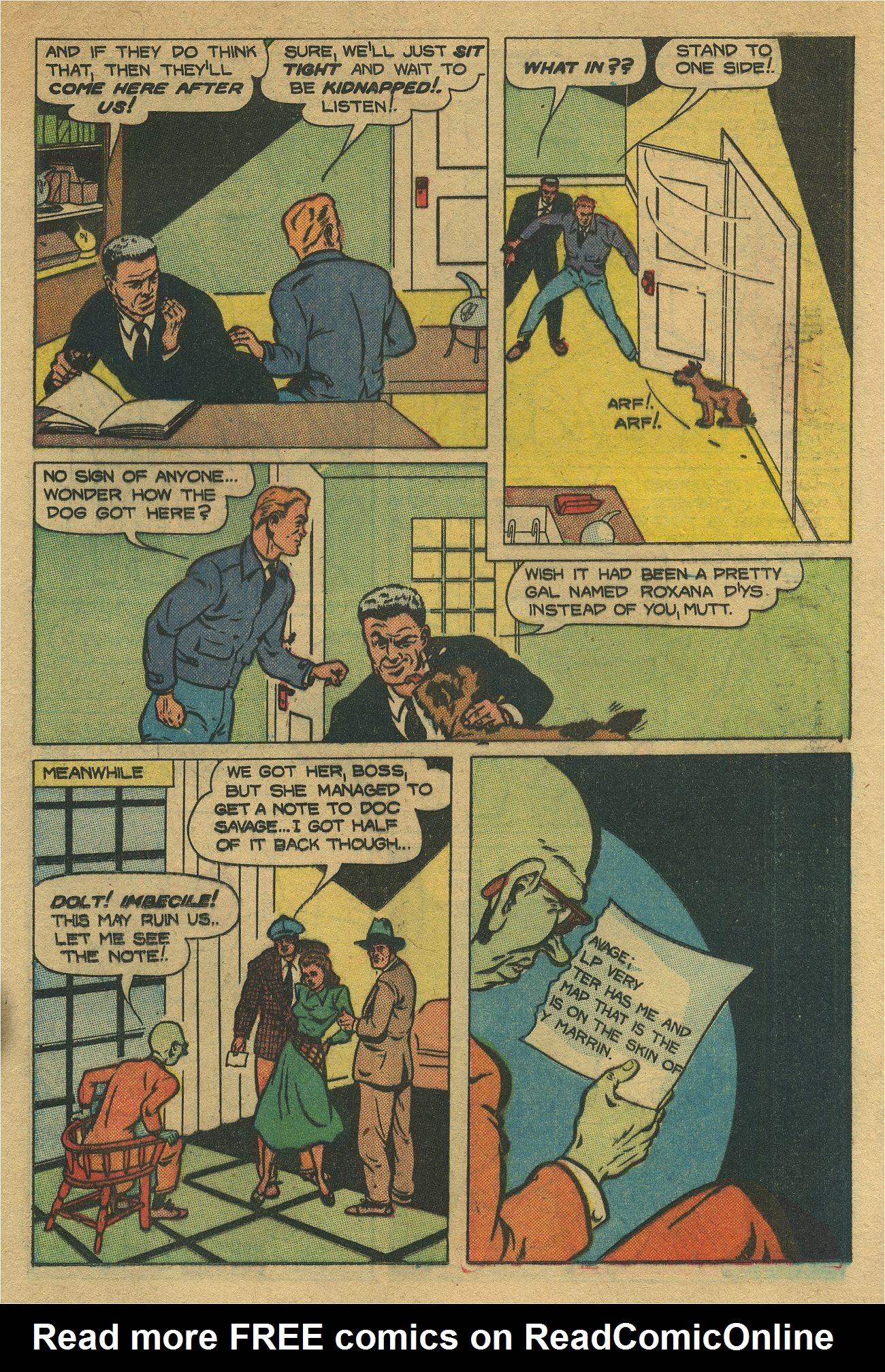 Read online Shadow Comics comic -  Issue #93 - 24