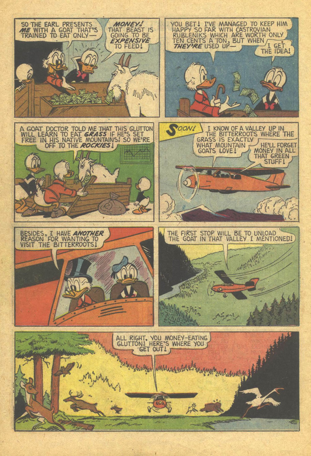 Read online Uncle Scrooge (1953) comic -  Issue #73 - 24