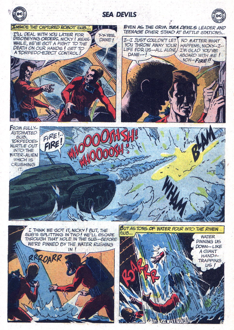 Read online Sea Devils comic -  Issue #7 - 23