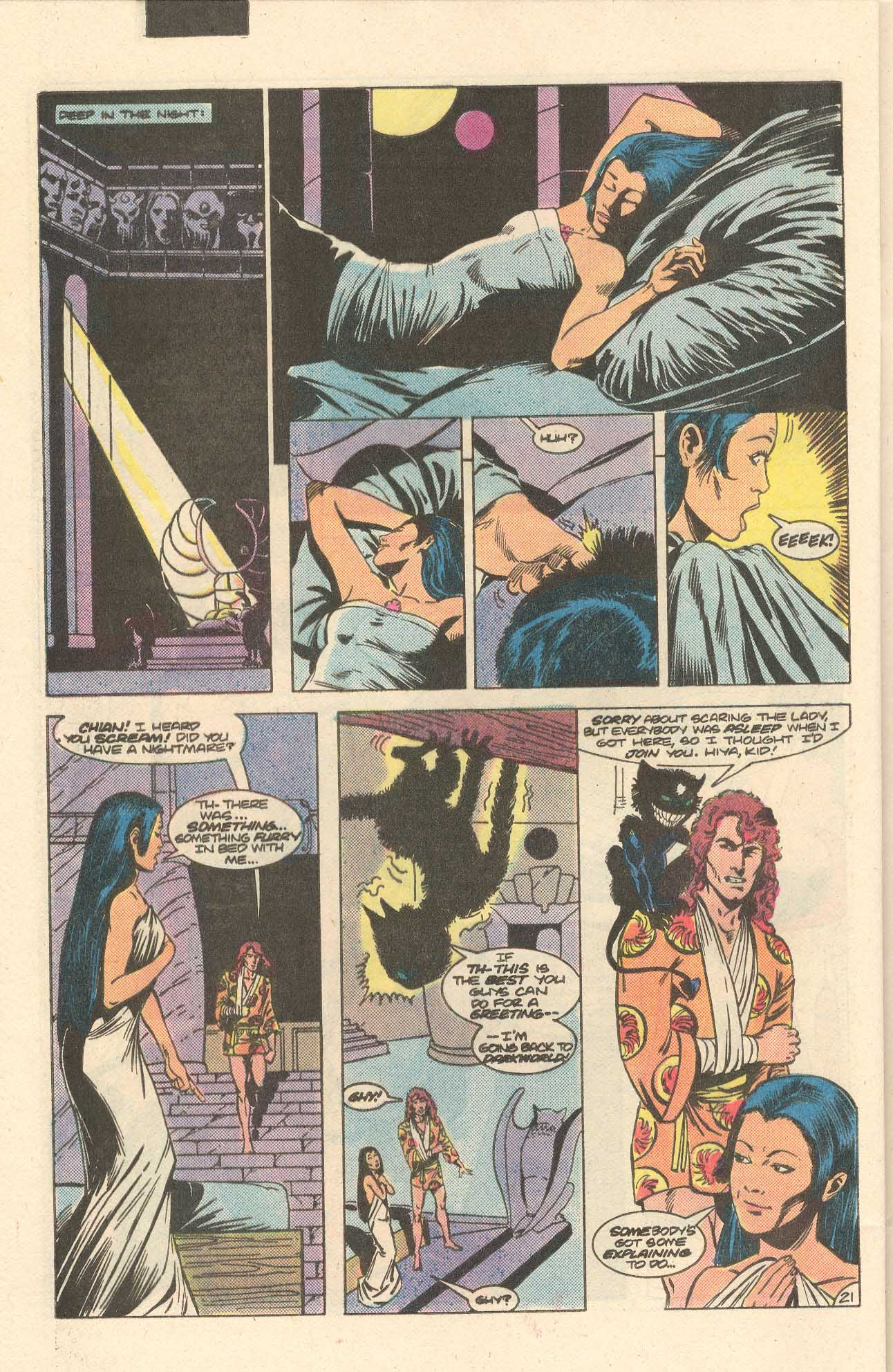Read online Arion, Lord of Atlantis comic -  Issue #35 - 22