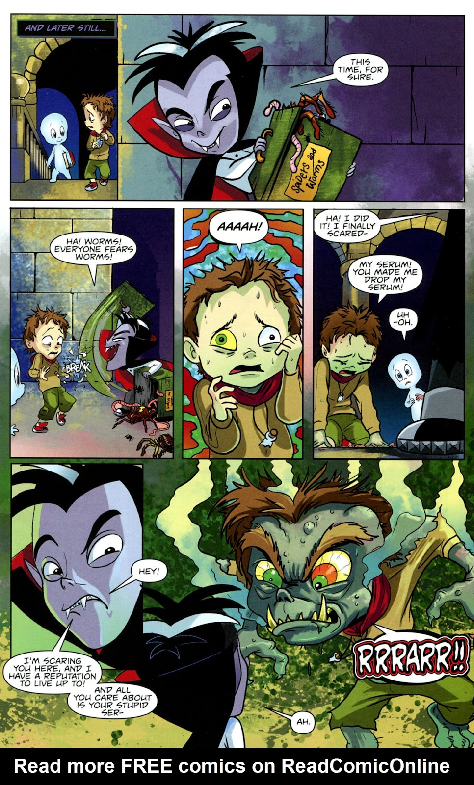 Read online Casper's Scare School comic -  Issue #1 - 21
