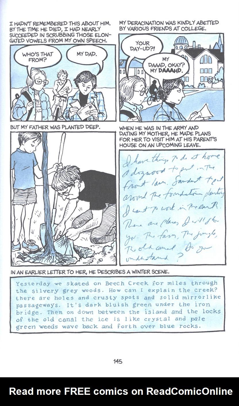 Read online Fun Home: A Family Tragicomic comic -  Issue # TPB - 151