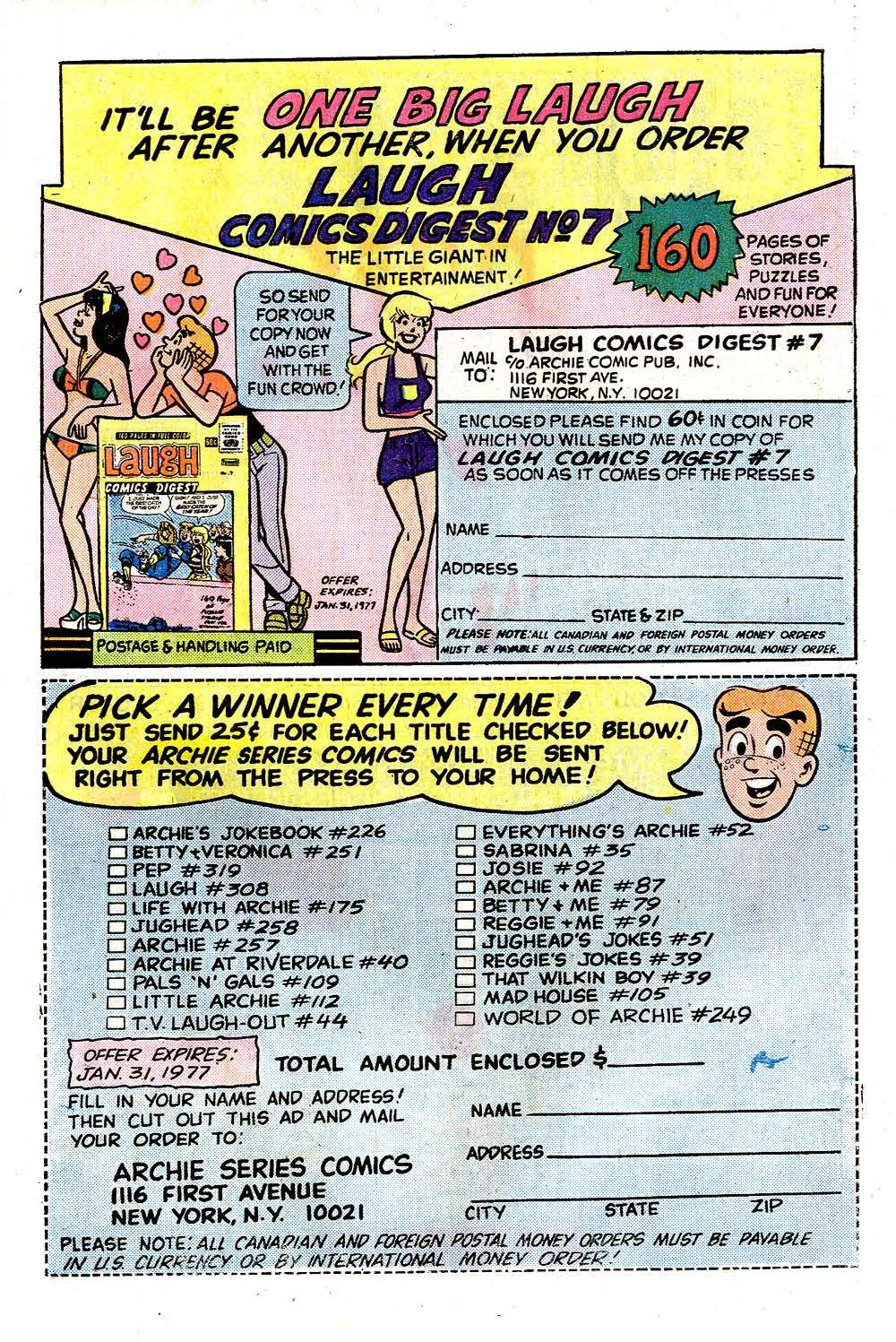 Read online Archie (1960) comic -  Issue #257 - 27