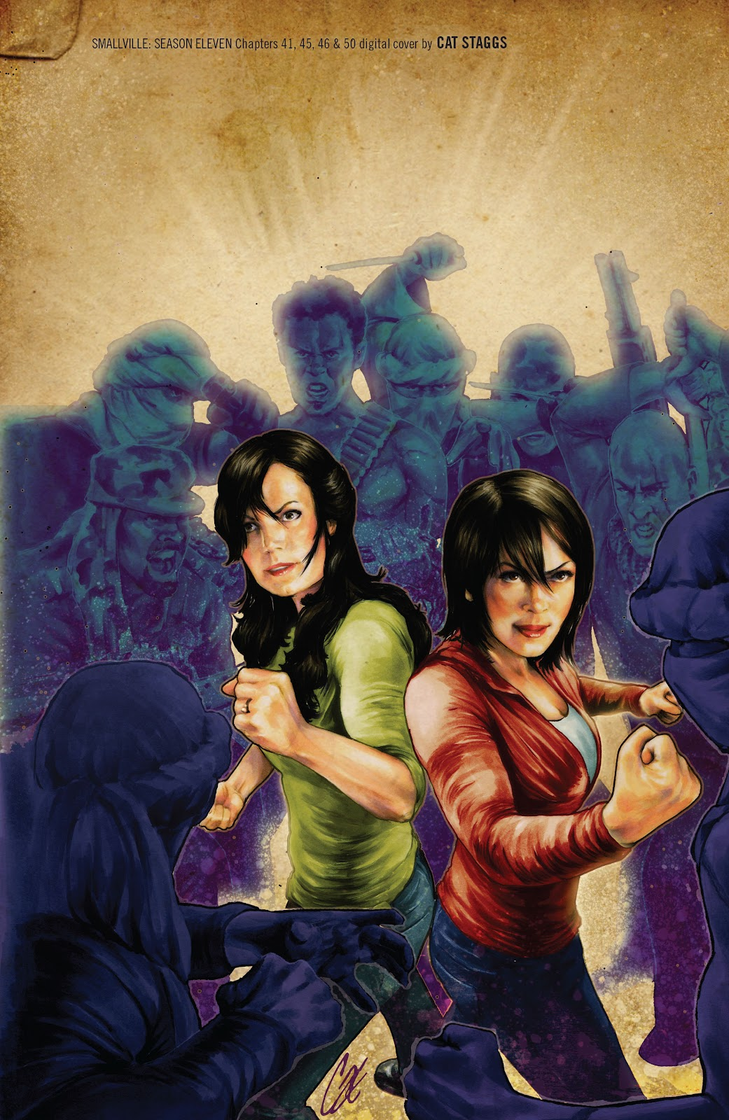 Read online Smallville Season 11 [II] comic -  Issue # TPB 4 - 146