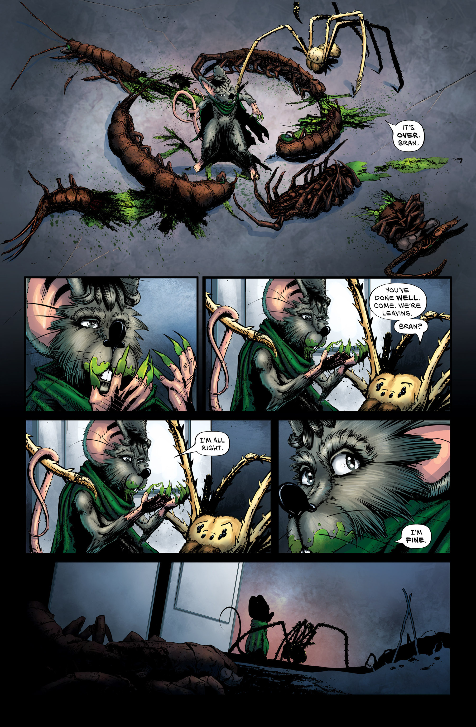 Read online Wretched Things comic -  Issue #3 - 7