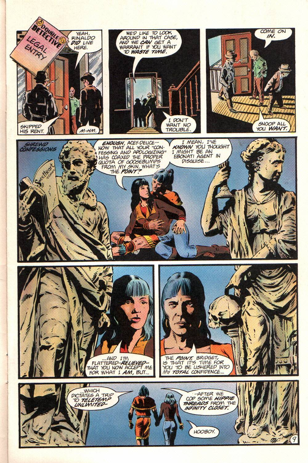 Read online Aztec Ace comic -  Issue #12 - 10