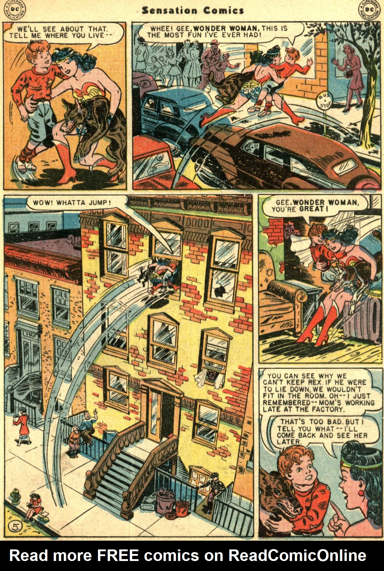 Read online Sensation (Mystery) Comics comic -  Issue #53 - 7