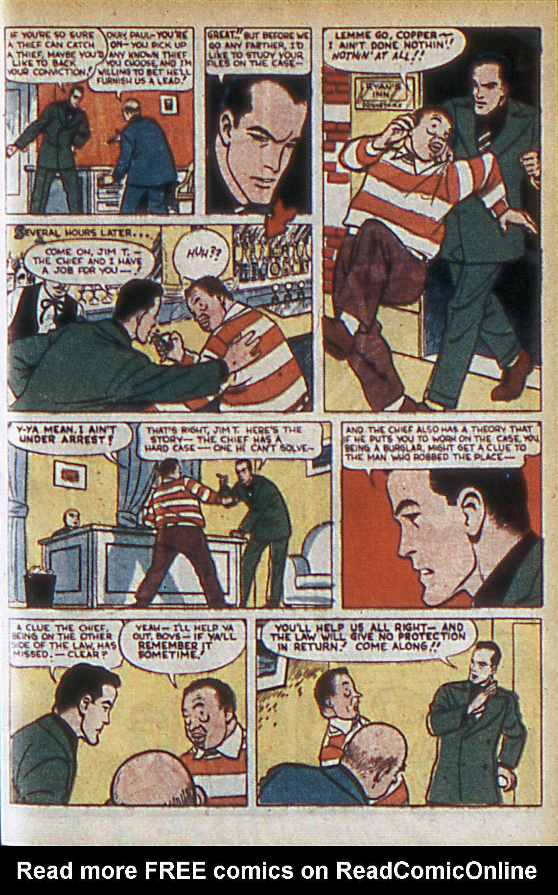 Read online Adventure Comics (1938) comic -  Issue #60 - 42