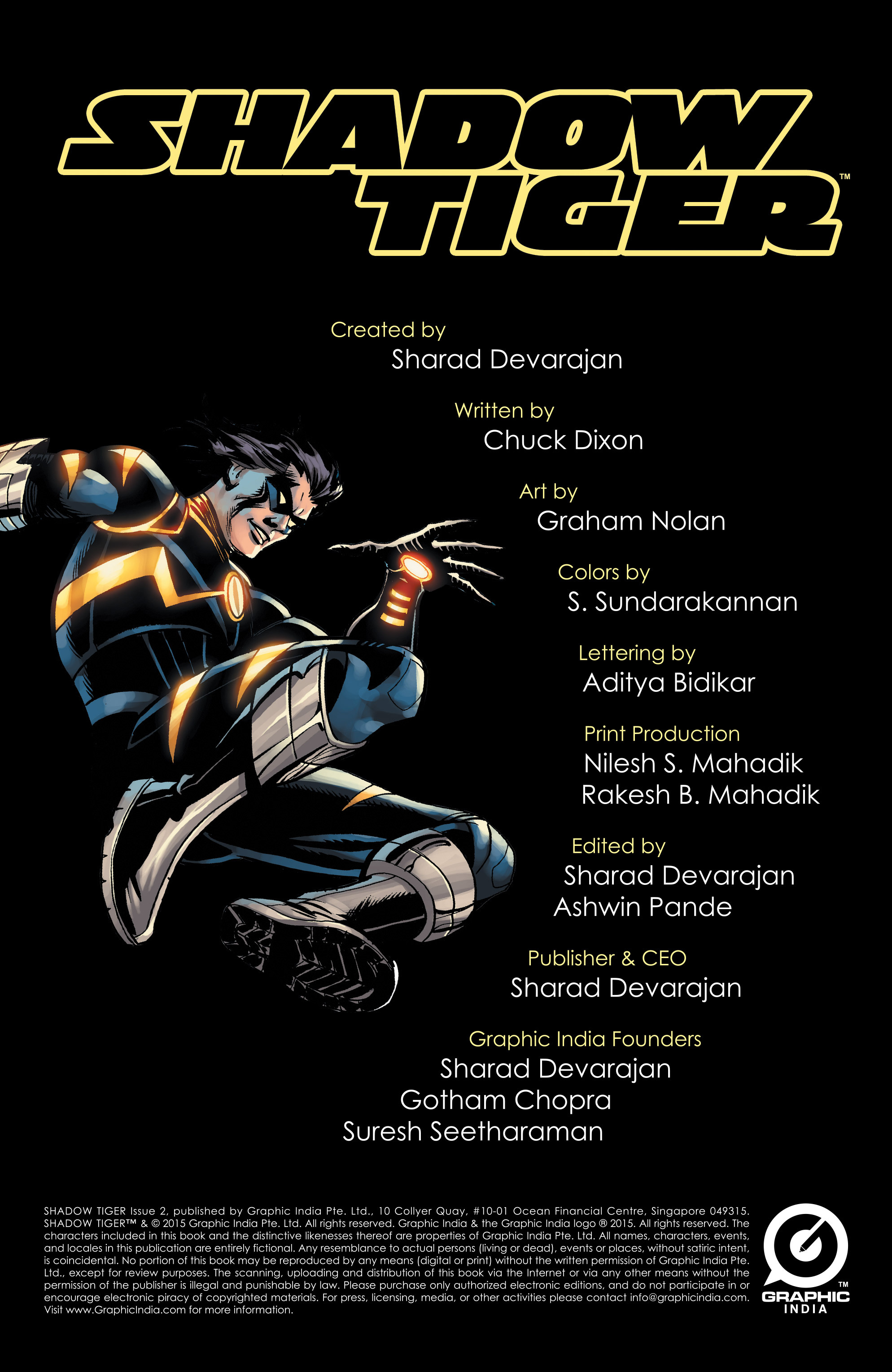 Read online Shadow Tiger comic -  Issue #2 - 2