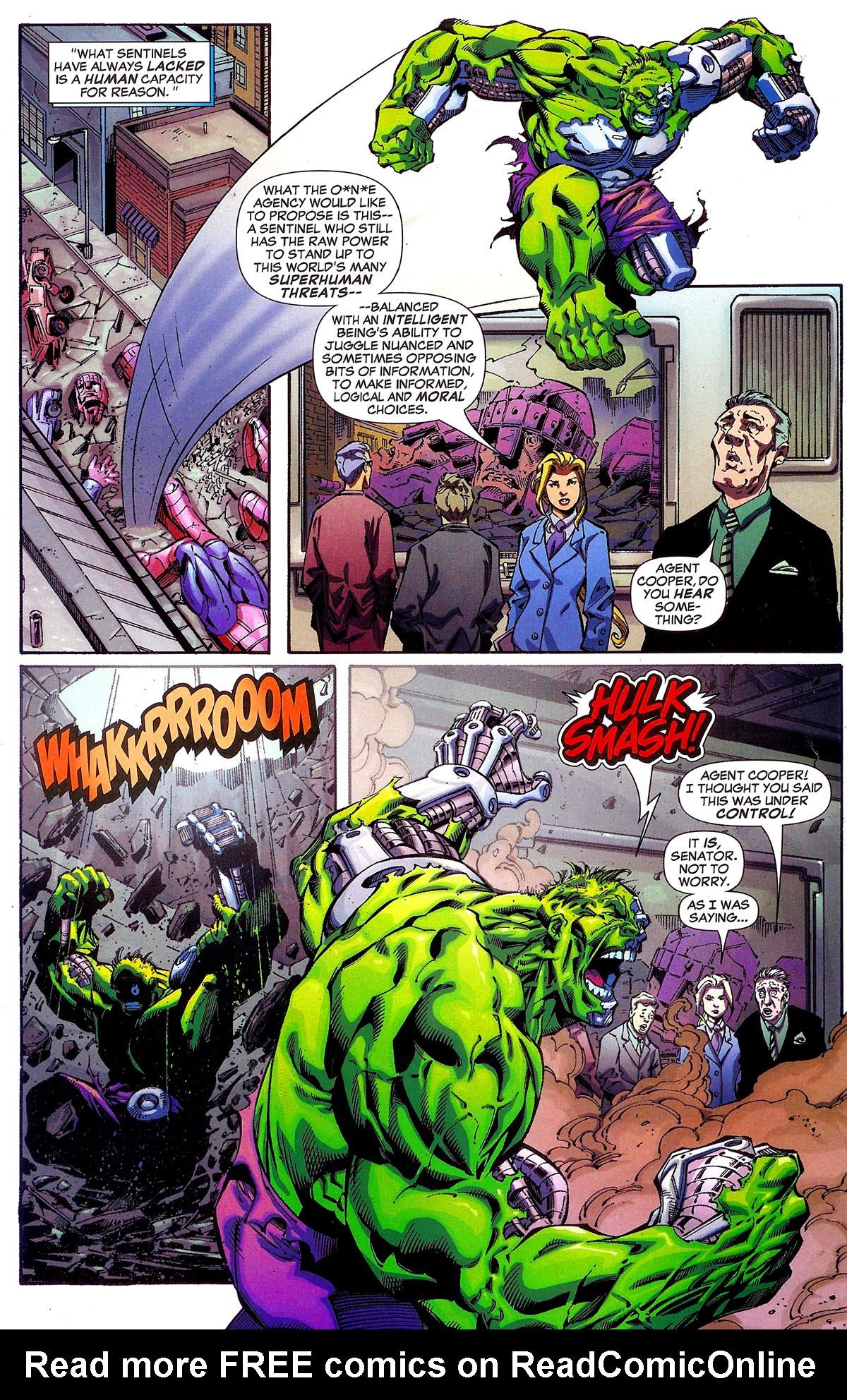 Read online Sentinel Squad O*N*E comic -  Issue #1 - 6