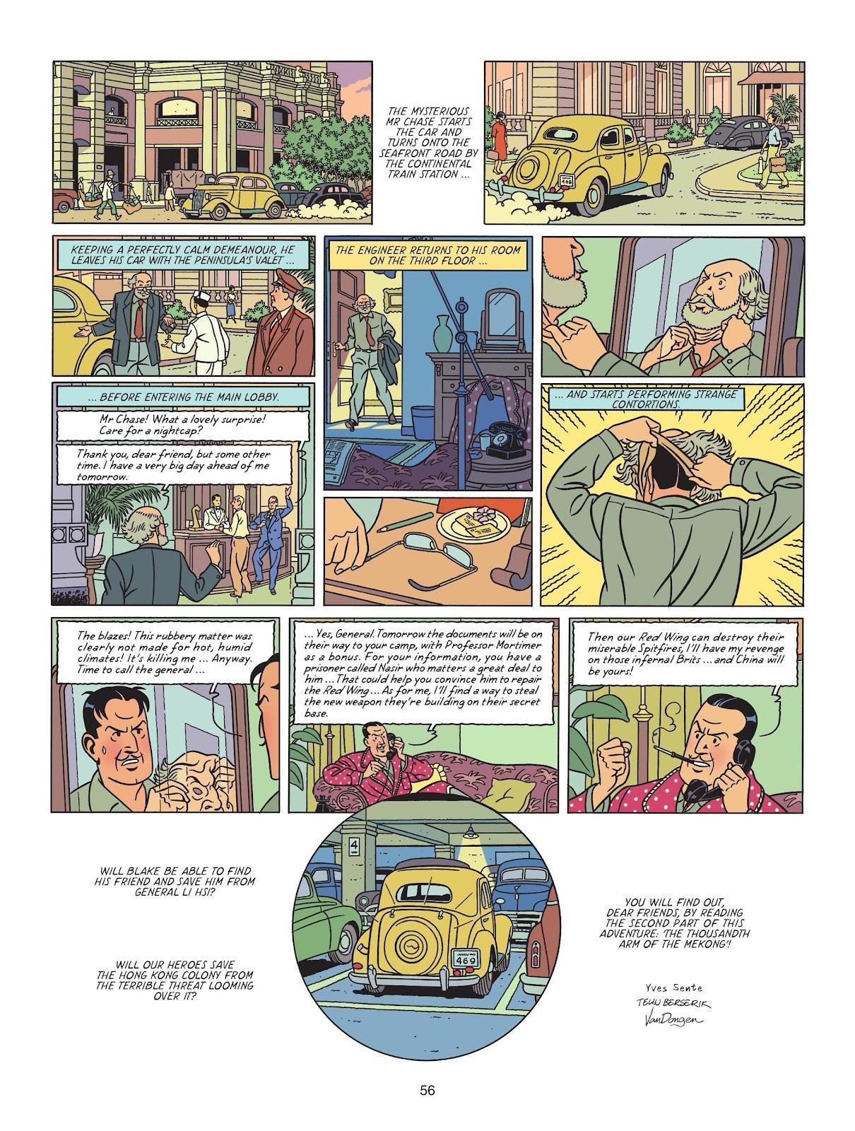 Read online Blake & Mortimer comic -  Issue #25 - 58