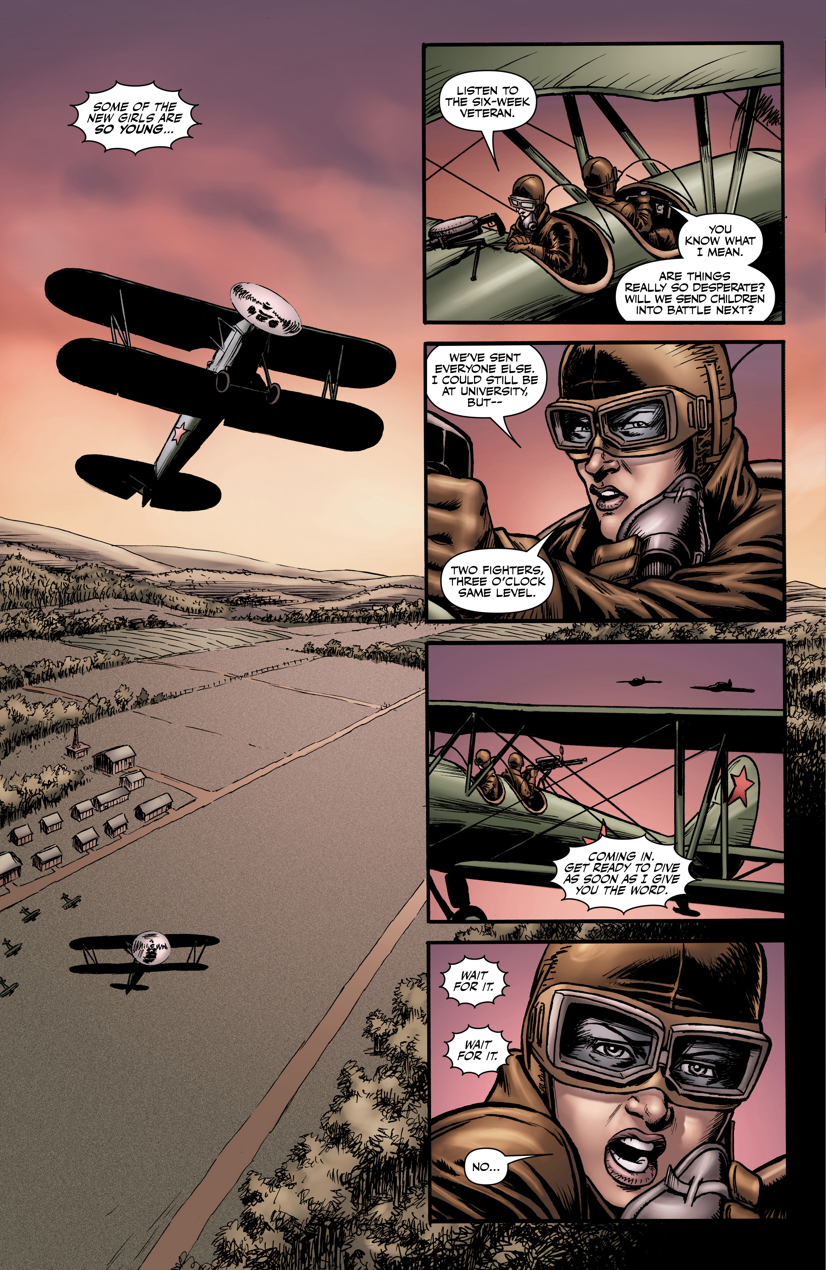 Read online Battlefields: Night Witches comic -  Issue # TPB - 36