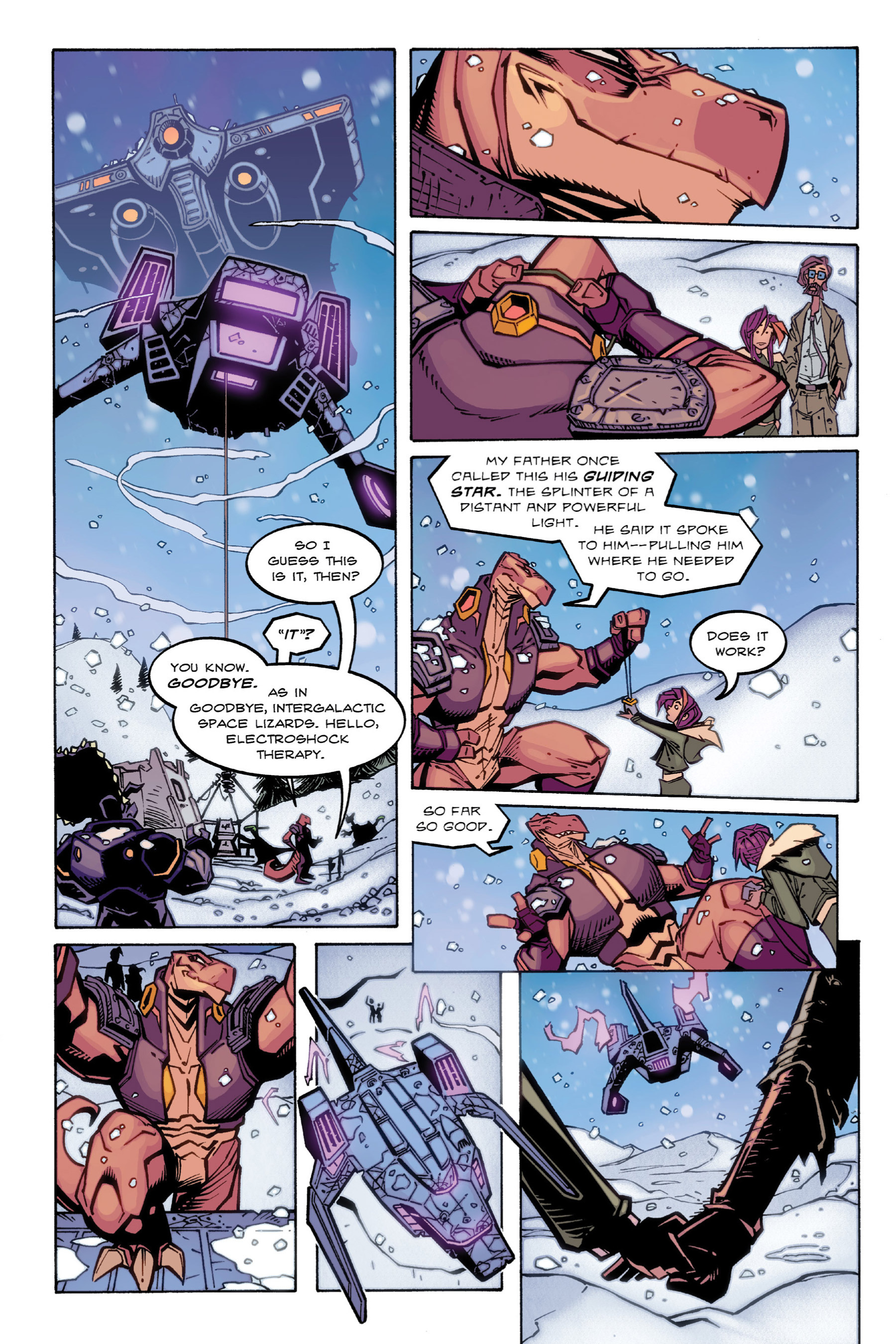 Read online Rexodus comic -  Issue # Full - 105