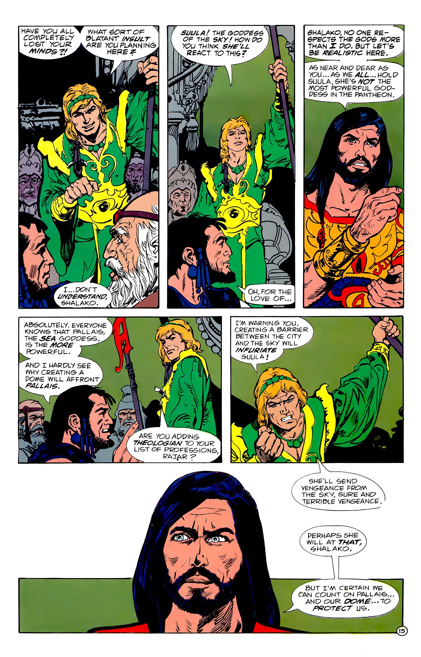 Read online Atlantis Chronicles comic -  Issue #1 - 15