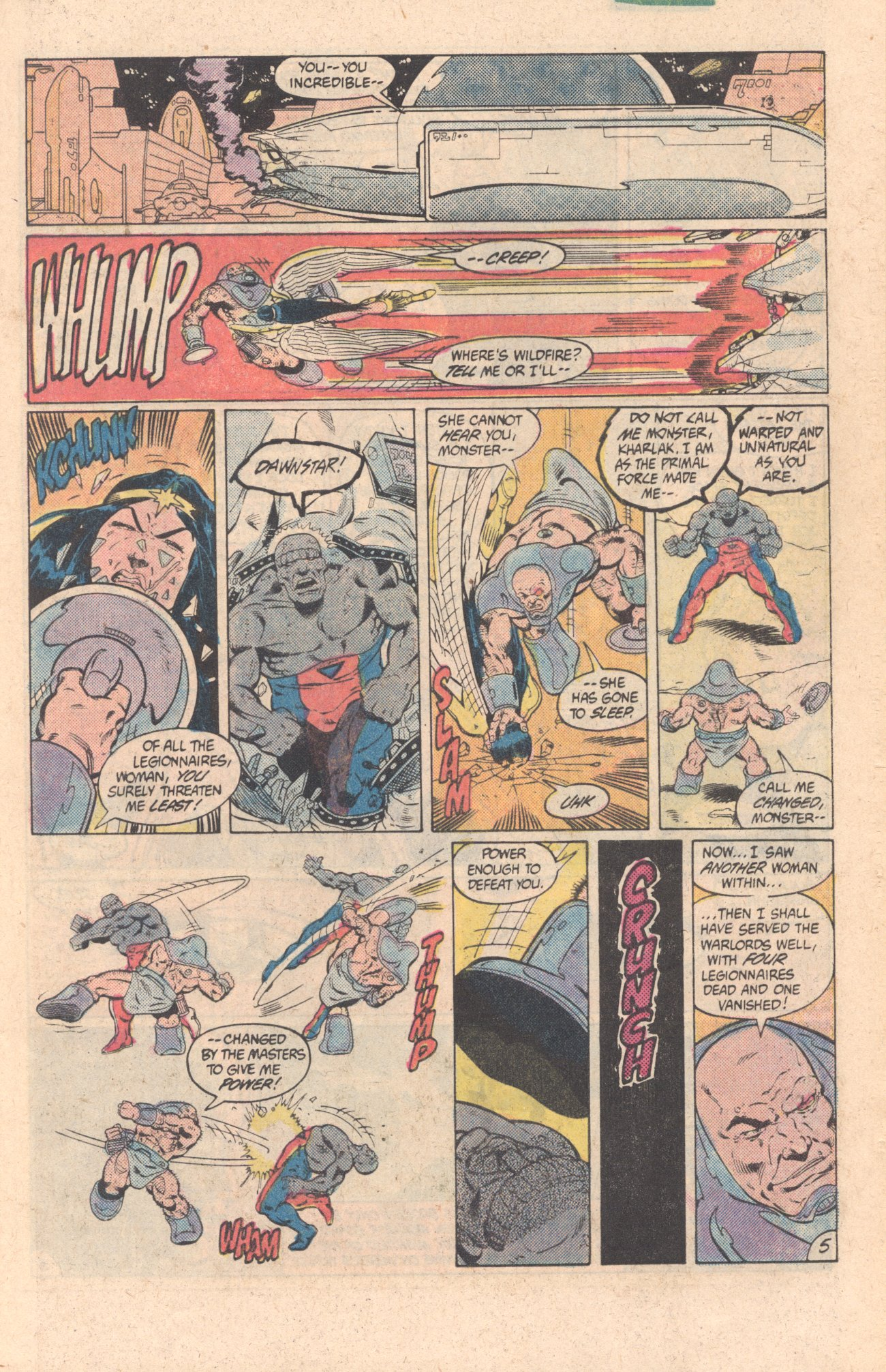 Legion of Super-Heroes (1980) 299 Page 5