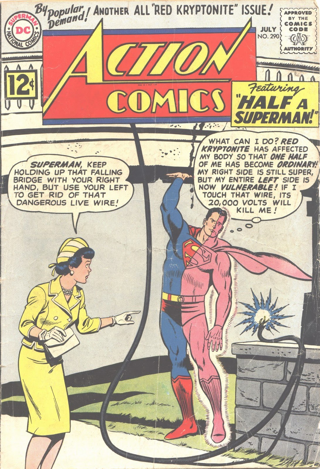 Action Comics (1938) 290 Page 1