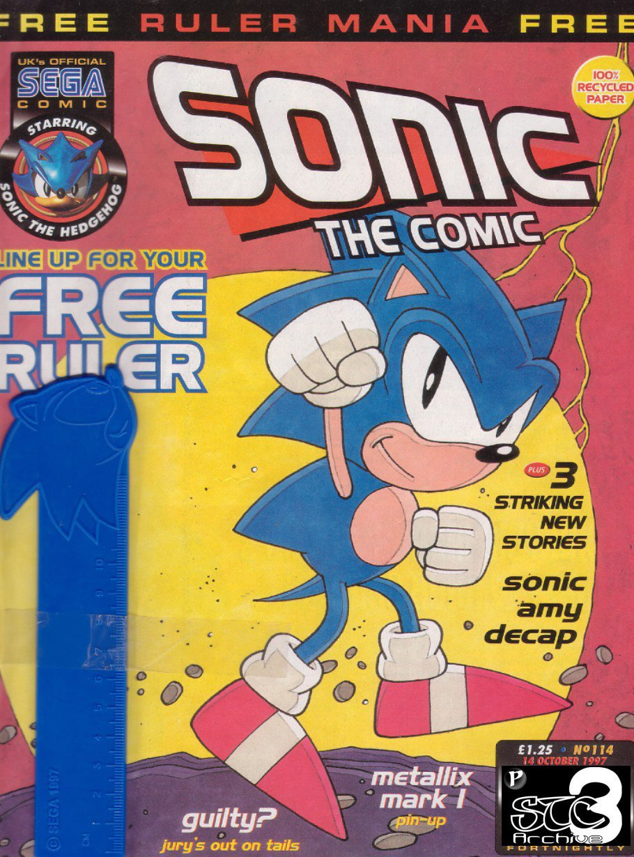 Read online Sonic the Comic comic -  Issue #114 - 1